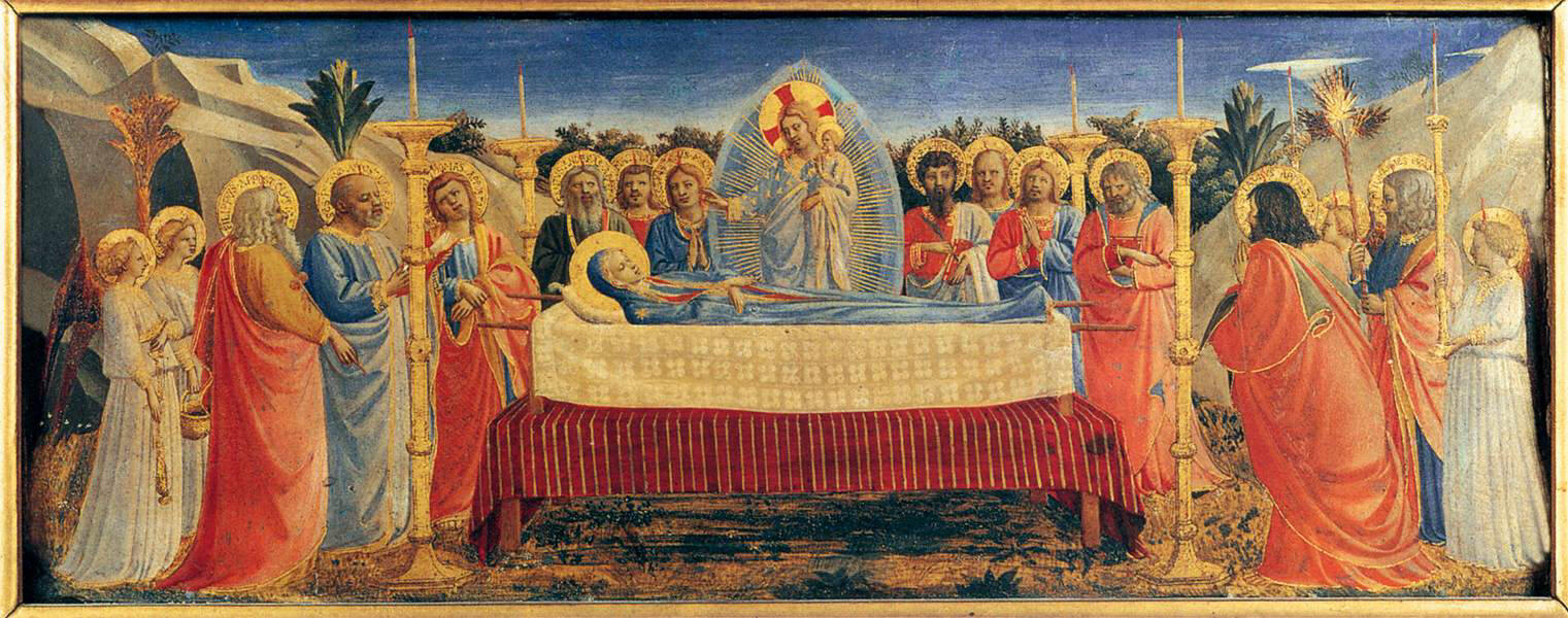 Fra. Angelico, Dormition of the Virgin, AD 1432