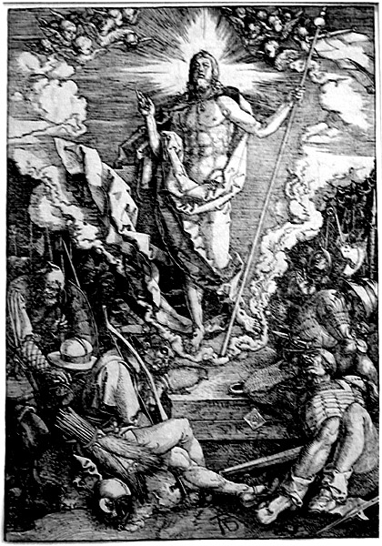 Durer: The Resurrection,  A.D.1510