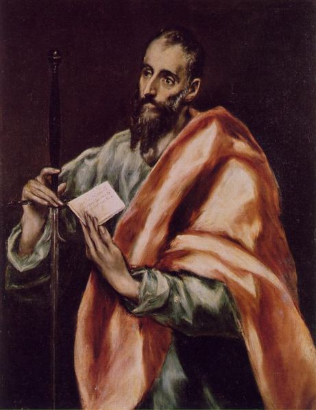 Paul the Apostle - El Grecco