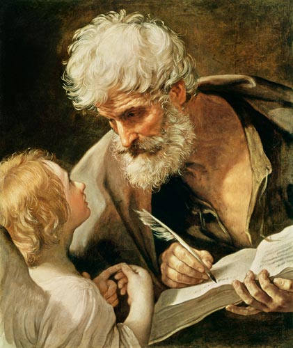 Saint Matthew--Guido Reni